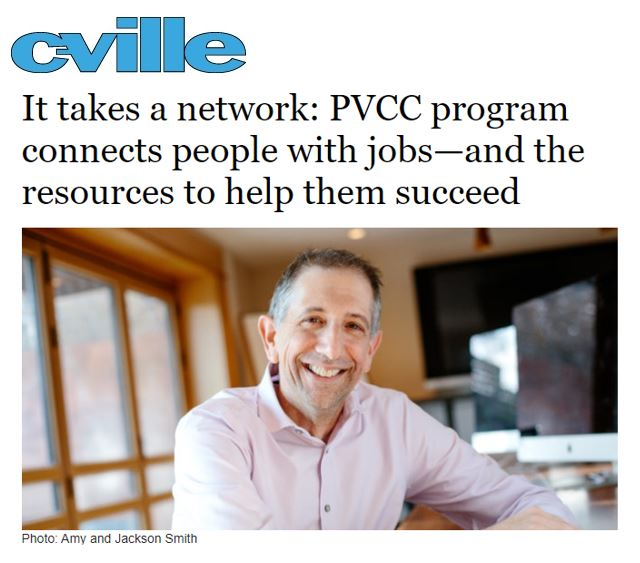 Cville Weekly Frank Squillace Article Photo
