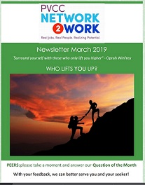 March 2019 Network2Work Newsletter