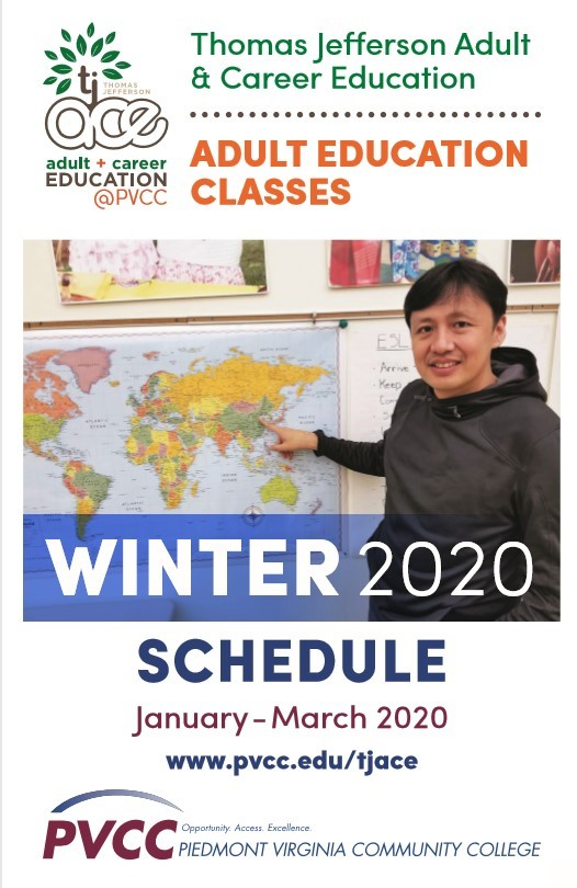 TJACE Winter Schedule 2020