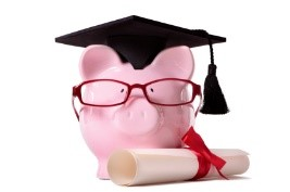 Paying for college Grex piggy grad