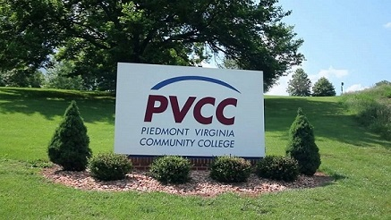 PVCC logo with bushes